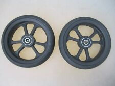 Cart Caster Walker Wheels 15 X 5 14 Axle With Bearings Fast Shipping