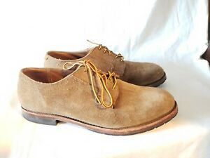 Red Wing Heritage Brown Suede oxford Men's size 10.5 Style 3104 RARE