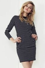 Stripes Regular Dresses for Women with Slimming