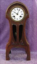 Rare alte Jugendstil Uhr um 1900 Art Nouveau Mantel Clock Pendule France