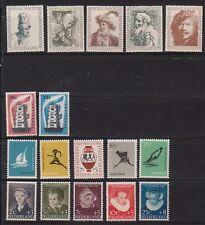 JAARGANG 1956 NVPH 671-687 POSTFRIS CAT.WAARDE 106,50 EURO