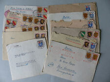 Französische Zone Brieflot 13 Stück