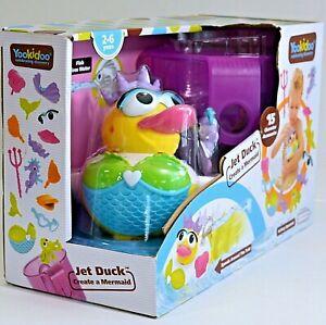 Yookidoo Jet Duck Create a Mermaid w/ 15 Character Accessories NEW