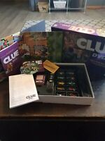 Clue DVD Mystery Board Game 2006 Hasbro Parker Brothers. Complete
