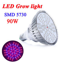 90W E27 90LEDs LED Plant Grow Light lamp For Plant&Flower Hydroponics System