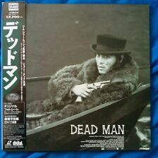 Dead Man Laserdisc Johnny Depp, Gary Farmer. Japan Edition with obi