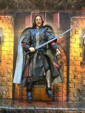 LOTR Toybiz figurine ARAGORN ROI DU GONDOR Le seigneur Des anneaux
