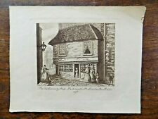 1837 Old Curiosity Shop Charles Dickens London Lincolns In Fields Antique Print
