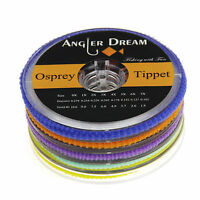 Tippet Fly Line 2/3/4/5/6X Clear Nylon 55Yds/50M Fly Fishing Line