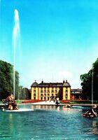 Schwetzingen , Schloss , Gartenseite, Ansichtskarte