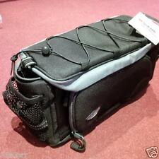 Premier Rack Pack Top Bag With Folding Side Panniers Black