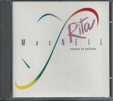 RITA MAcNEIL - Reason to believe CD Album 11TR WEST GERMANY Print 1988