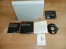 ORANGE LIVEBOX BROADBAND ROUTER + SET UP GUIDE, CD & BOOKLET