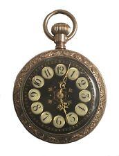 Antique 1800's Addison Gold Filled Ladies Pocket Watch