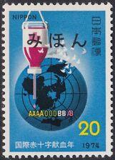 Specimen, Japan Sc1174 Red Cross, Transfusion Bottle