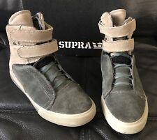 Supra Society Terry Kennedy Pro Model Grey/warm Grey Suede US Size 6