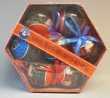 LIONEL POST WAR CHRISTMAS TREE ORNAMENT GIFT BOX (14) train bulb 9-21012