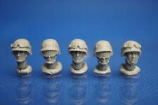 Resin Kit 332 1/35 Soldier Head Set