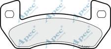 PAD1497 GENUINE APEC REAR BRAKE PADS FOR MICROCAR VIRGO