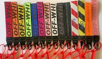 Off White Inspired Keychain Lanyard Industrial Badge ID Belt Wrist Strap 10.5""