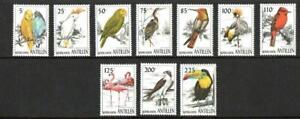 NETHERLANDS ANTILLES SG1215-1224 BIRDS    MNH