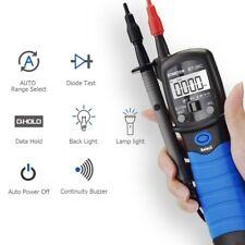 Pen Type Digital Multimeter Handheld Backlight Dcac Volt Ohm Cap Meter Bt 38c