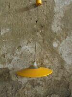 LAMPADARIO ANNI 50 METALLO VETRO MADE IN ITALY chandelier ponti lelli flos