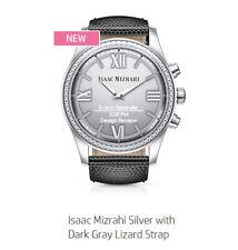 HP Isaac Mizrahi Silver Smartwatch - Grey Lizard Strap (Y8Q02AA)