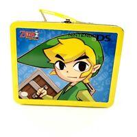 Nintendo DS The Legend of Zelda Phantom Hourglass Metal Collectors Case Lunchbox