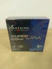 Imation superdisk 120MB 3 Pack 3M NEW