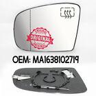 NUEVO Lado Izq. Gran Angular Espejo calefactable para Mercedes ML W163 98-05