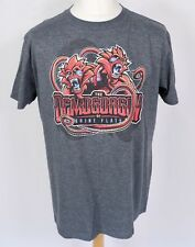 D&D The Demogorgon Of Brine Flats T Shirt L Grey Dungeons Dragons Geek Fuel Tee