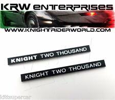 1982-92 Pontiac Firebird Knight Rider Kitt K2000 Steering Gullwing Plate Plastic