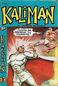 Kaliman El Hombre Increible #913 - Mayo 27, 1983 - Mexico