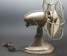 VINTAGE WESTINGHOUSE 12LA TWO SPEED ART DECO STREAMLINED STEAMPUNK TABLE FAN