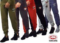Mens Ecko UNLTD Jogger HipHop Fleece Jogging Bottom Sweat Pants Gymwear YOKOHAMA