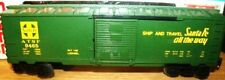 "Lionel 9465 Santa Fe Green ""Super Chief"" ATSF Boxcar BRAND NEW MOB"