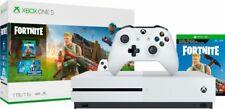 Microsoft - Xbox One S 1TB Fortnite Bundle with 4K Ultra HD Blu-ray White