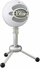 Logitech Blue Snowball Plug and Play USB Microphone White