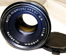 Mamiya Sekor ES 55mm f1.8 Lens Manual Focus Lens  35MM SLR