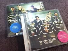 TRIPLE EIGHT KNOCKOUT 2 X  CD SINGLES INC. POSTCARDS