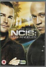 NCIS LOS ANGELES The Complete Season 3 Chris O'Donnell 6-Disc DVD VGC