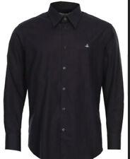 New Mens Vivienne Westwood Black Size 54 Uk L Shirt RRP£185.S25DL0375