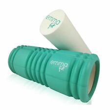 Faszienrolle Massagerolle Fitnessrolle von Emma Fit 2in1 - Yoga Pilates Rolle