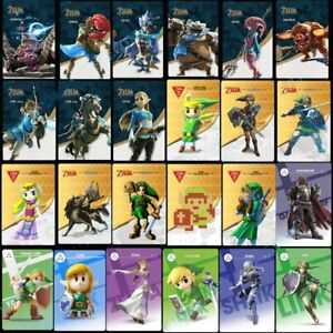 24PCS Zelda Breath of the Wild NFC amiibo Tag Game Cards for NS Full Set *24