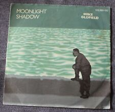 Mike Oldfield, moonlight shadow / rite of man, SP - 45 tours import