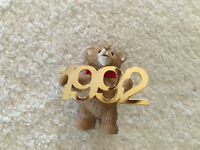 Vintage 1992 Hallmark Bear Christmas Ornament