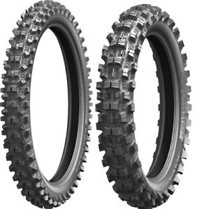 MICHELIN STARCROSS 80/100-21 FRONT 100/90-19 REAR OFF-ROAD SOFT TIRE SET KTM