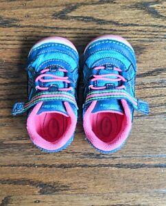 Stride Rite Bristol Toddler Girl Shoe Memory Foam - Size 6c Wide