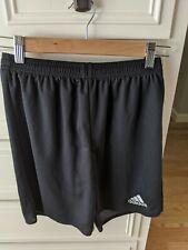 Adidas Climalite Boys Drawstring Shorts Black Size Youth Large Soccer Shorts